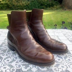 DEHNER  Leather Ankle Strap Jodphur Riding Boots